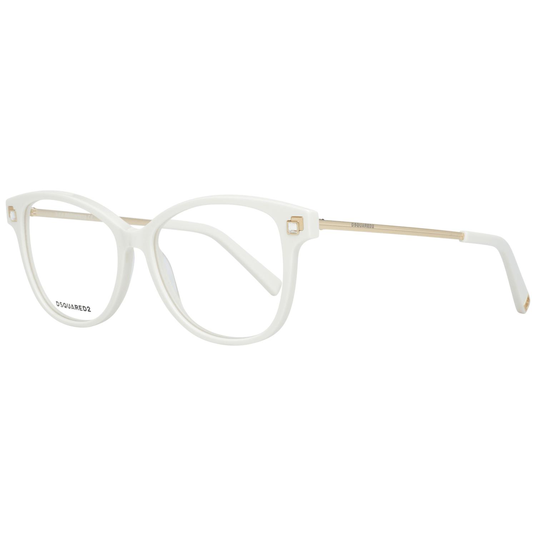 Dsquared² Women's Optical Frames Eyewear Cream DQ5287 53021