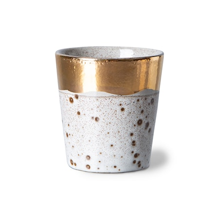 70s ceramics: Christmas special 2021 Kaffe Mugg Sparkle