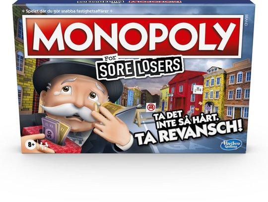 Hasbro Monopol För Dåliga Förlorare