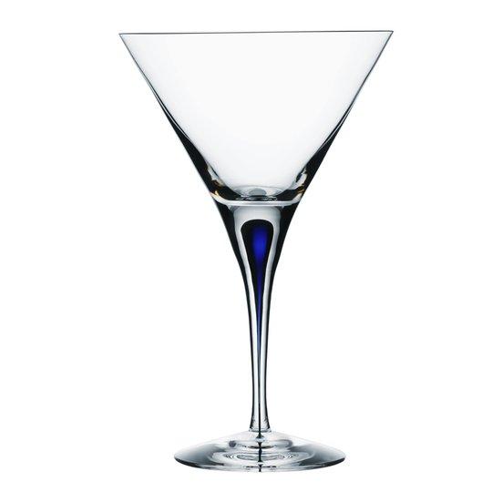 Orrefors - Intermezzo Blå Martiniglas 25 cl