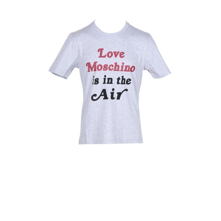 Love Moschino Men's T-Shirt Grey 178591 - grey L