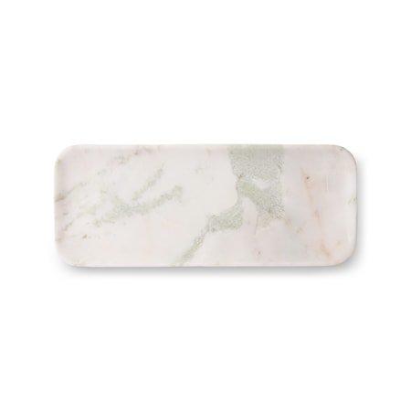 White/Green/Pink Marmor Brett