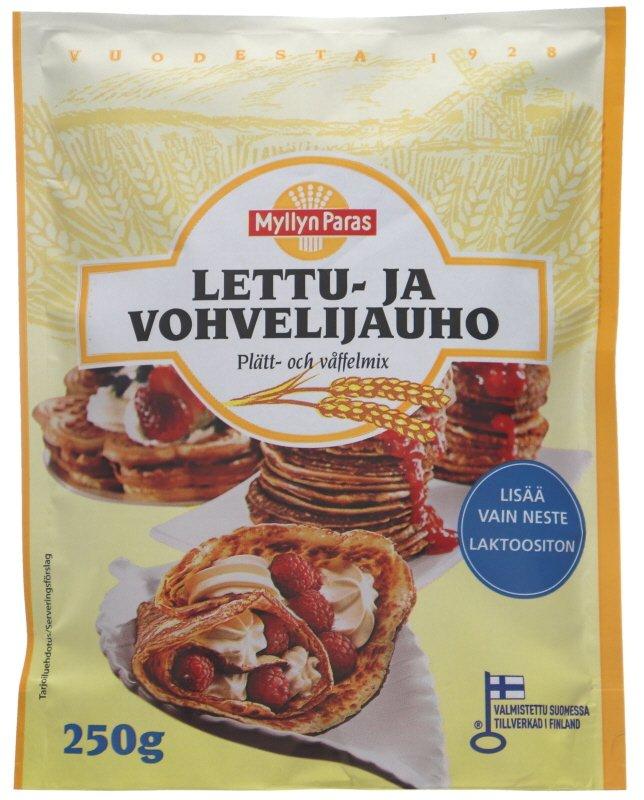 Lettu- & Vohvelijauho - 28% alennus