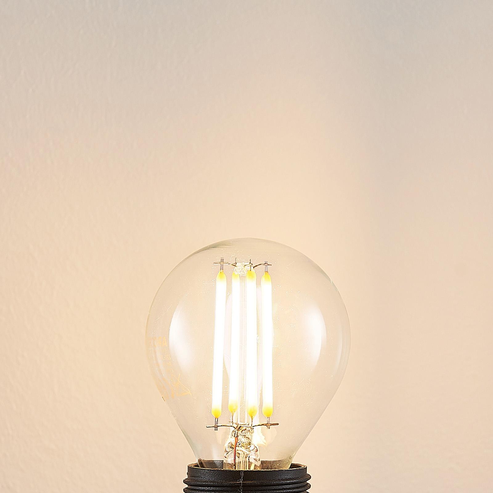 LED-lamppu E14 P45, 4 W 2 700 K kirkas