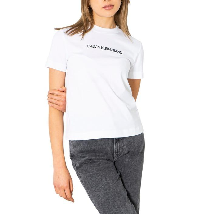 Calvin Klein Jeans Women T-Shirt Various Colours 299673 - white XS