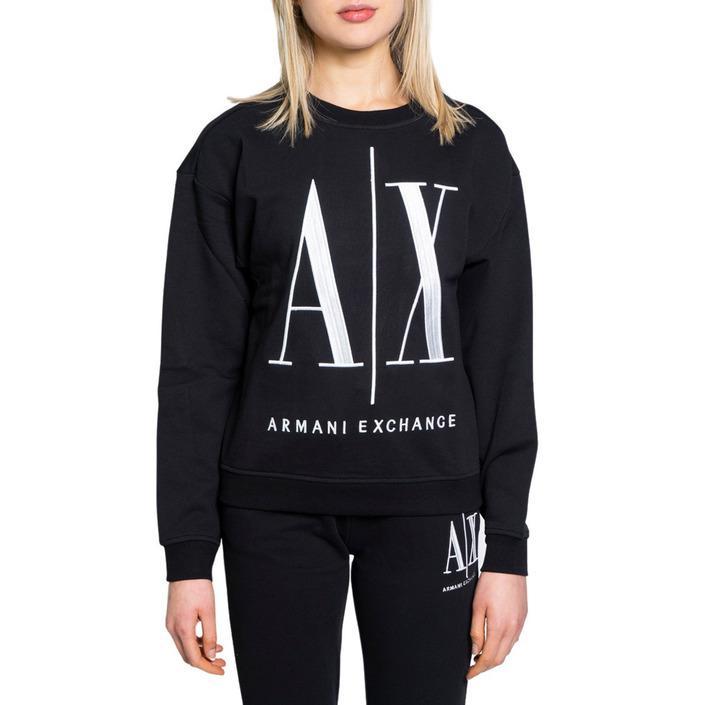 Armani Exchange Women's Sweatshirt Black 190499 - black XS