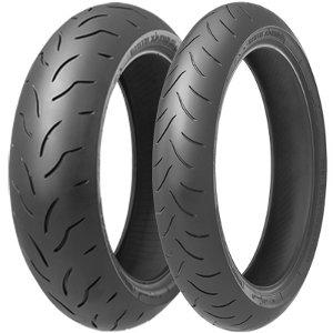 Bridgestone BT016 F Pro ( 130/70 ZR16 TL (61W) M/C, etupyörä )