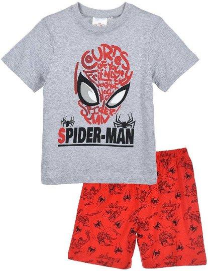 Marvel Spider-Man Pysjamas, Light Grey, 8 År