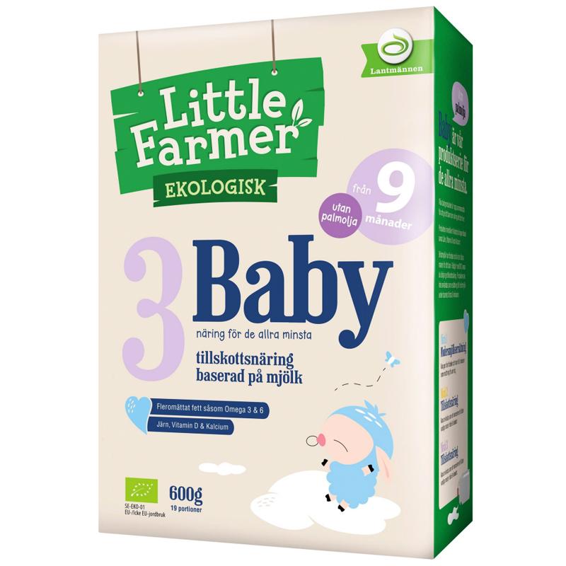 """Eko Tillskottsnäring """"3 Baby"""" 600g - 61% rabatt"""