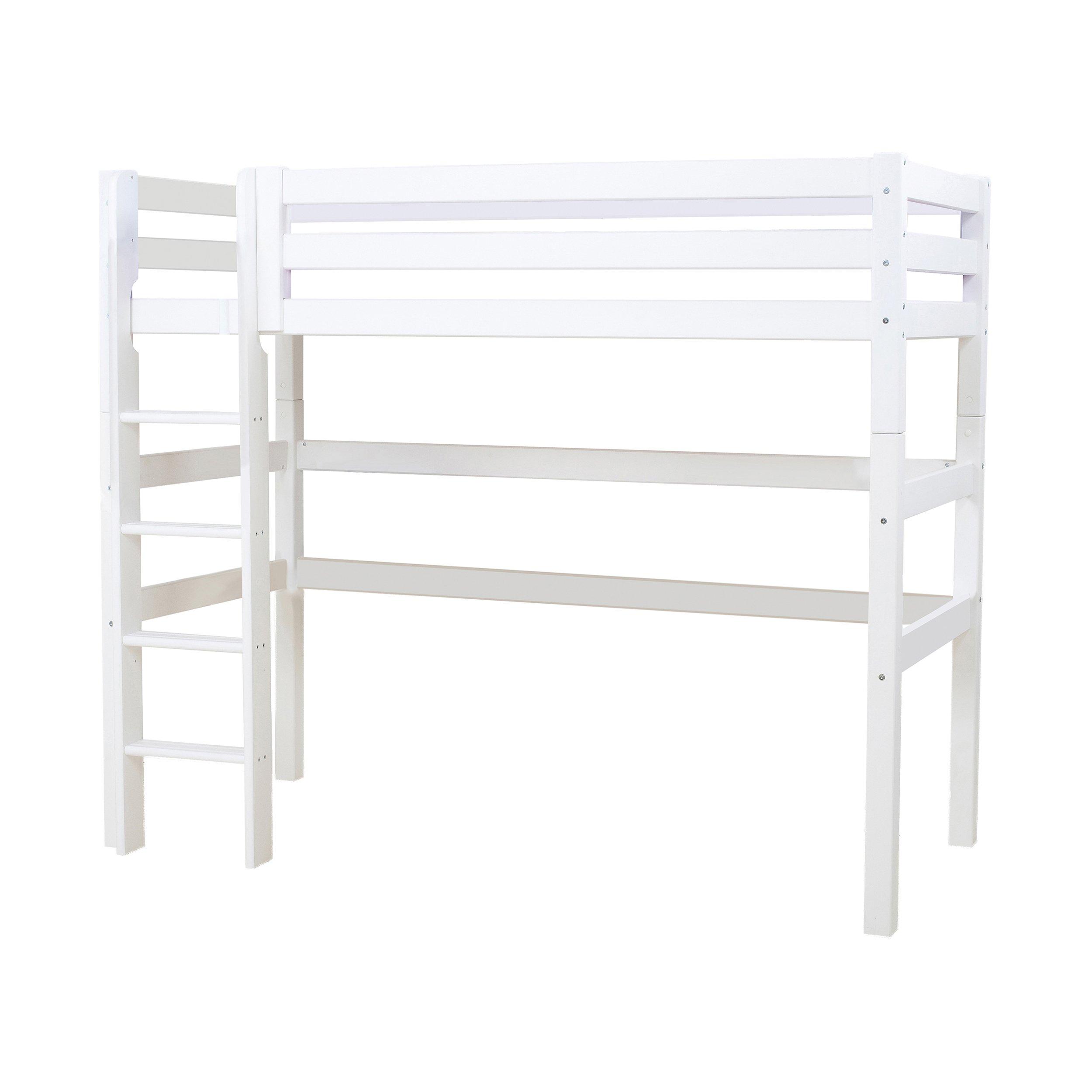 Hoppekids - PREMIUM High Sleeper 90x200cm - White