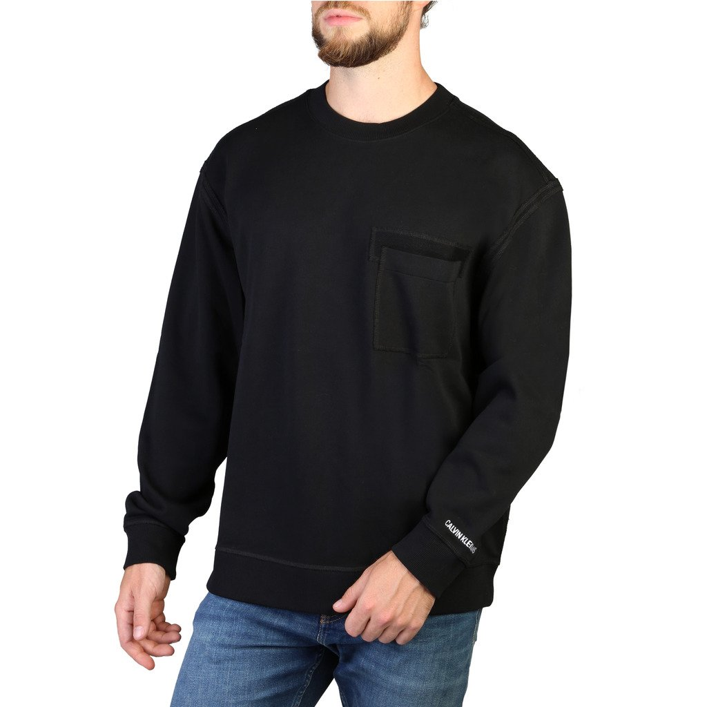 Calvin Klein Men's Sweaters Black 349361 - black S