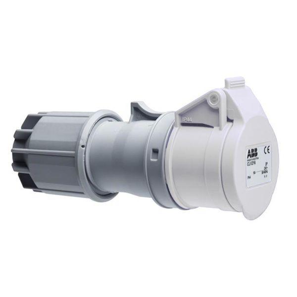 ABB 2CMA100902R1000 Jatkopistorasia 24 V Valkoinen, 16 A, 2-napainen