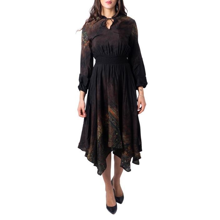 Desigual Women's Dress Black 183004 - black XS