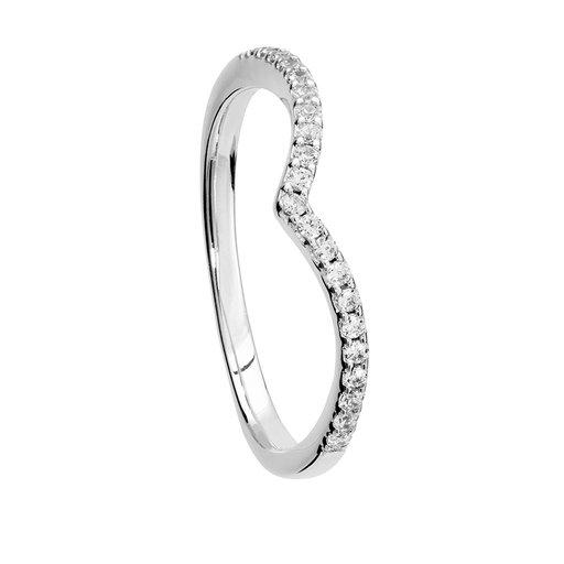 Ring i äkta silver, 15.0