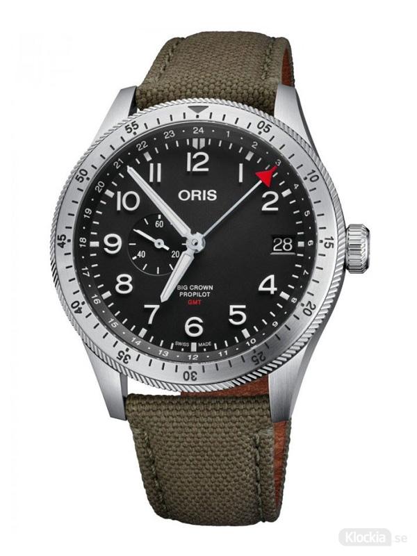 ORIS Big Crown Propilot Timer GMT 44mm 748-7756-4064-07-3-22-02LC