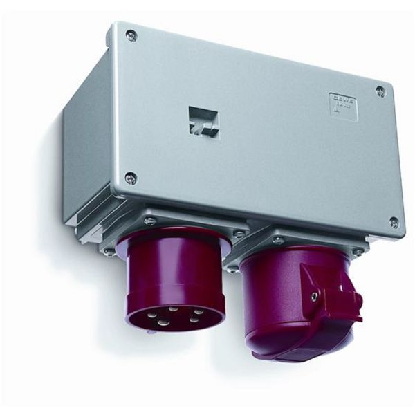 ABB 2CMA168127R1000 Työmaakytkentärasia IP44, roiskeenkestävä kestomuovi