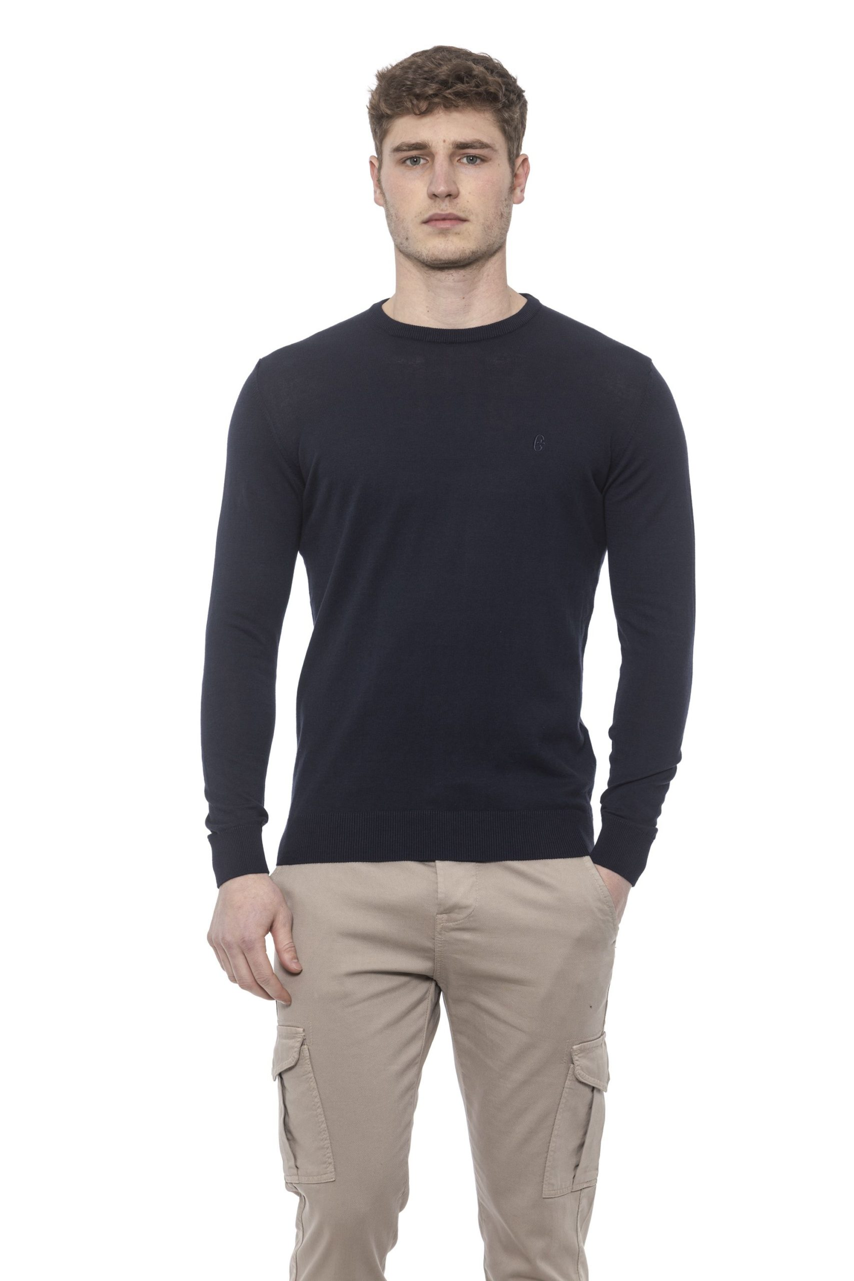 Conte of Florence Men's Sweater Blue CO1376426 - S