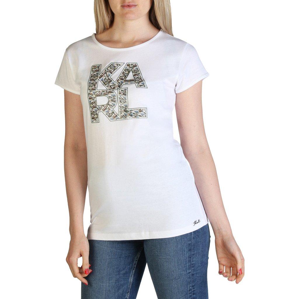 Karl Lagerfeld Women's T-Shirt Various Colours KL21WTS01 - white XS