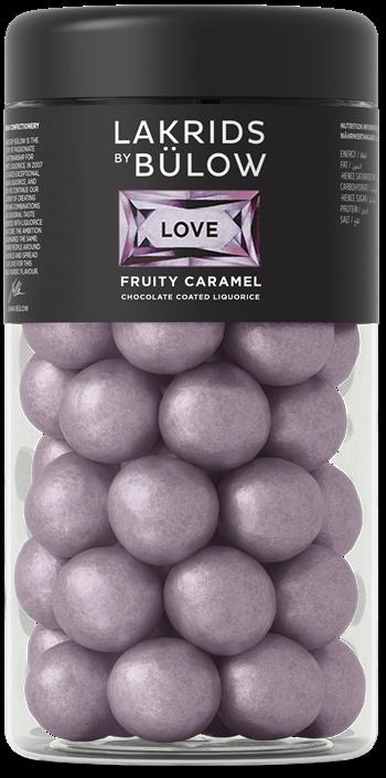 Lakrids By Bülow - 2 x Regular Love Fruity Caramel 295 g