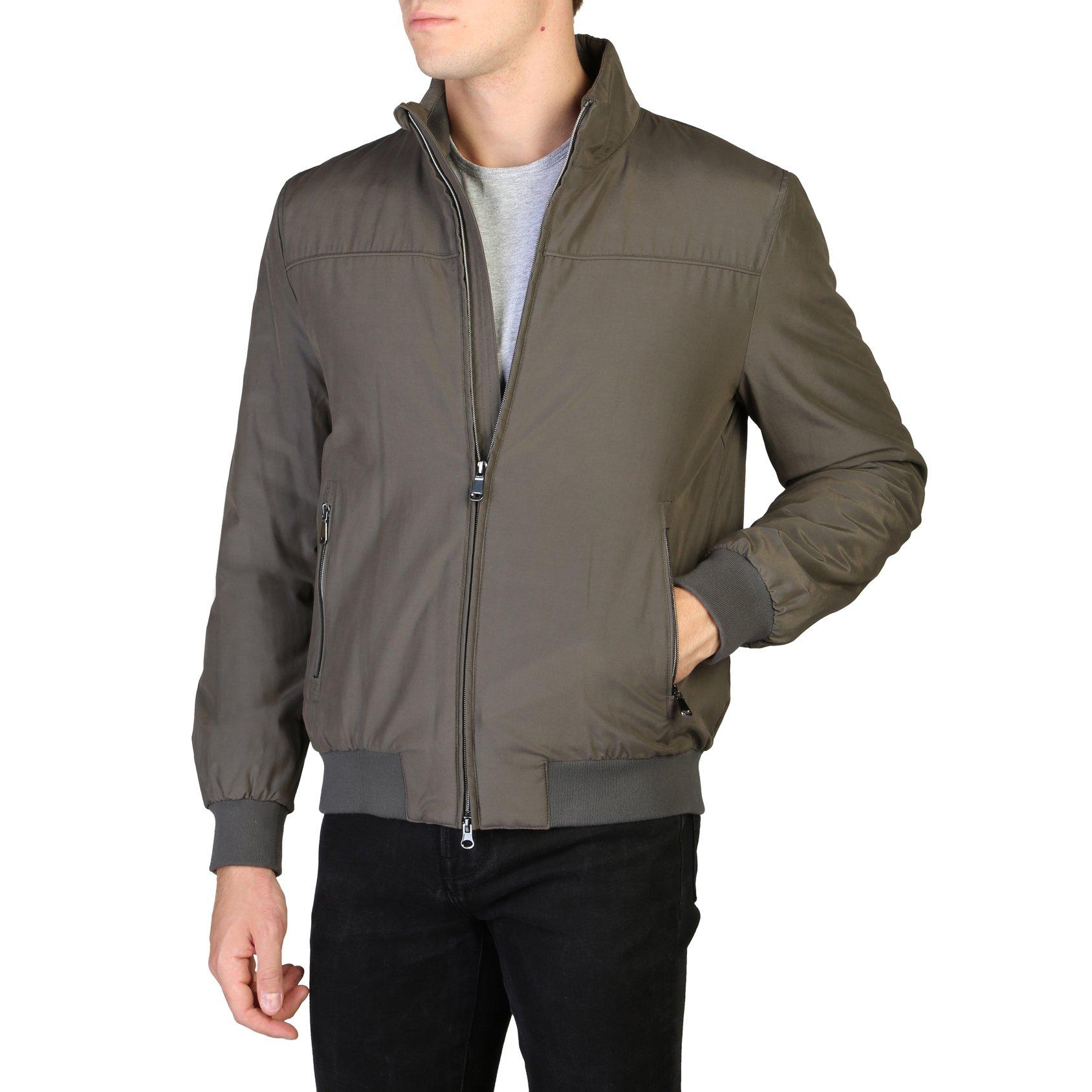 Geox Men's Jacket Brown M8420LT2499 - green 56
