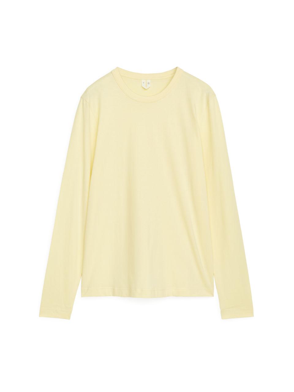 Long-Sleeved T-Shirt - Yellow