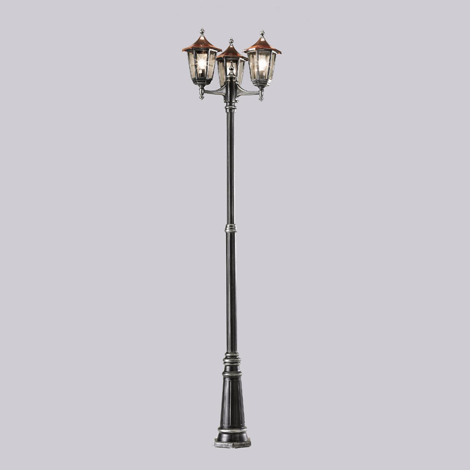 3-Lamppuinen kynttilänjalka ANTOINE