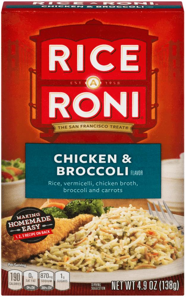 Rice A Roni Chicken & Broccoli 138g