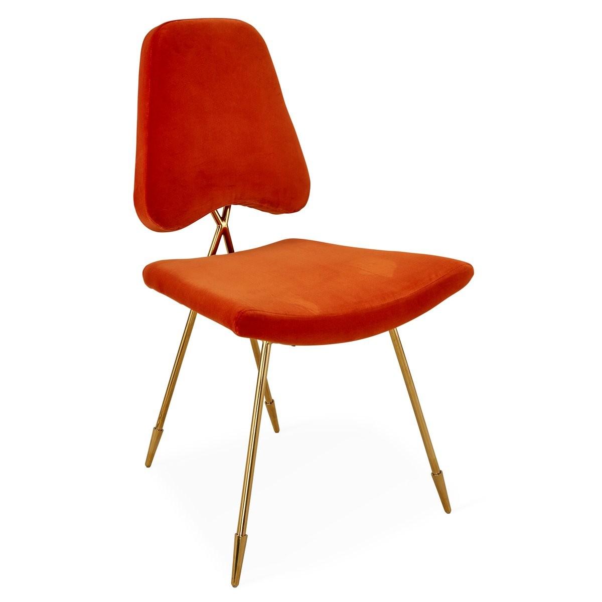 Jonathan Adler I Maxime Dining Chair I Varese Persimmon