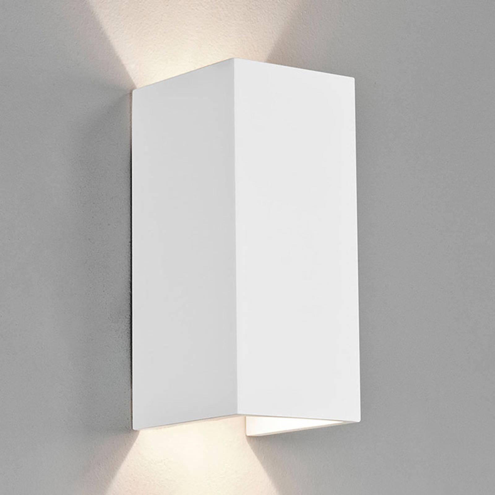 Astro Parma 210 -LED-seinävalaisin kipsiä, 2 700 K