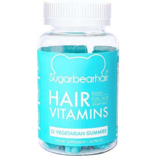 Hair Vitamin, 60 st Sugarbearhair Ravintolisä