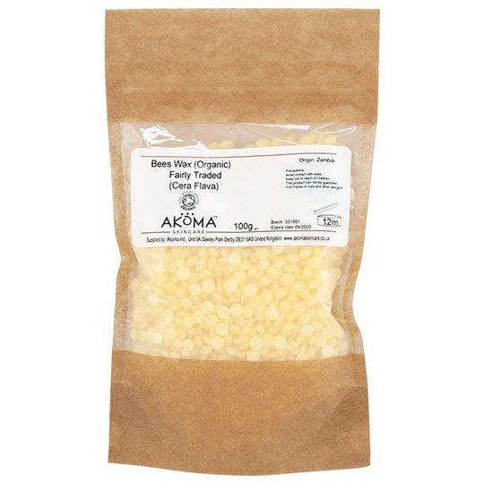 Akoma Organic Beeswax, 100 g