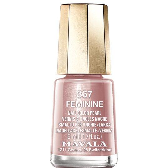 Nail Color Pearl, 367 Feminine, 5 ml Mavala Värilakat