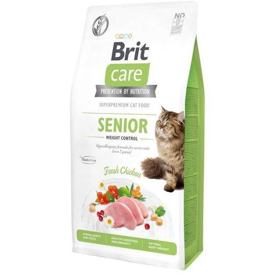 Brit Care Cat Grain Free Senior Weight Control (7 kg)