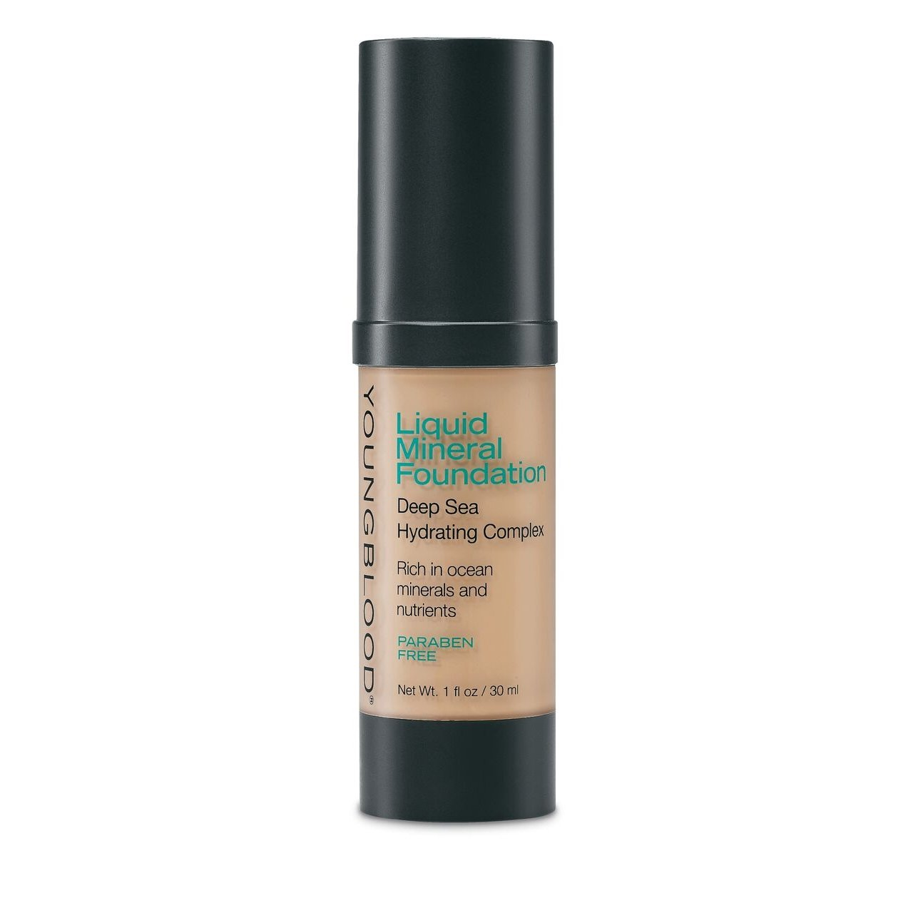 YOUNGBLOOD - Liquid Mineral Foundation - Golden Tan
