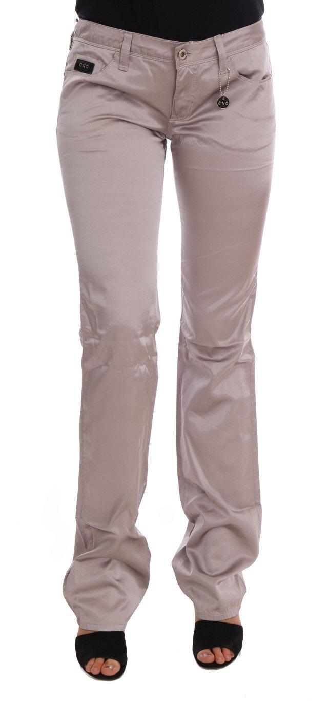 Costume National Women's Cotton Slim Fit Jeans Beige SIG30132 - W26