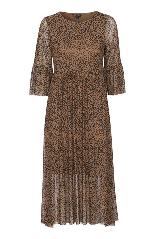 Happy Holly Mönstrad klänning Lina Leopard