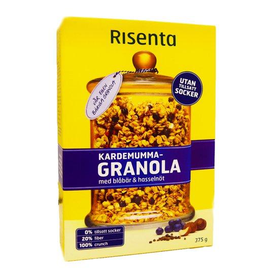 Granola Kardemumma Blåbär & Hasselnöt - 49% rabatt