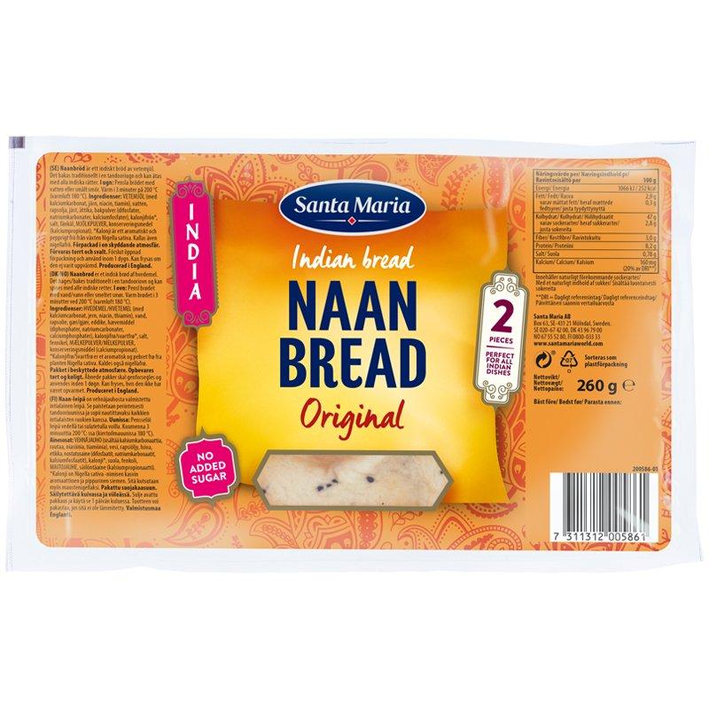Naan-leipä Original - 16% alennus