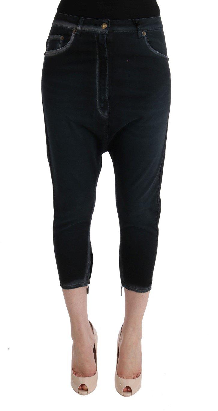 Cavalli Women's Baggy Jeans Black SIG32419 - W26