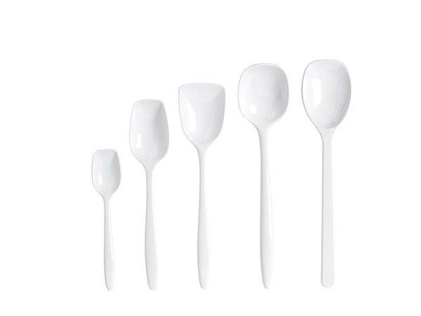 Rosti - Spoon Set of 5 - White (243001)