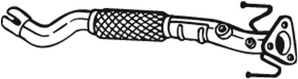 Pakoputki BOSAL 750-157