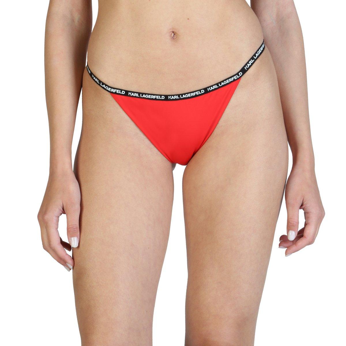 Karl Lagerfeld Women's Swimwear Underwear Various Colours KL21WBT01 - red XS
