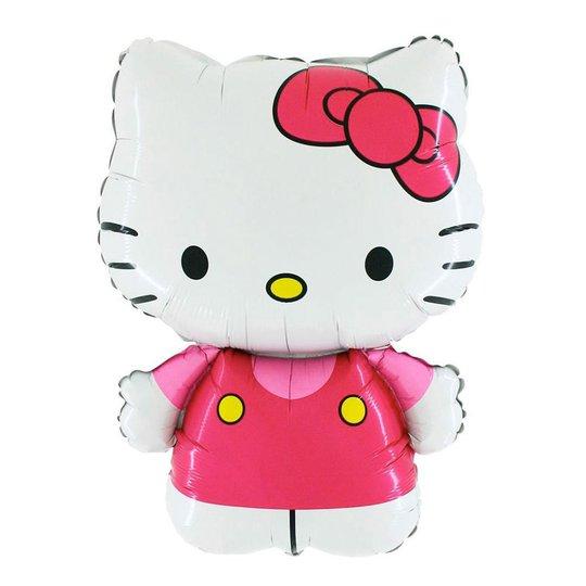 Folieballong Hello Kitty Rosa - 76 cm