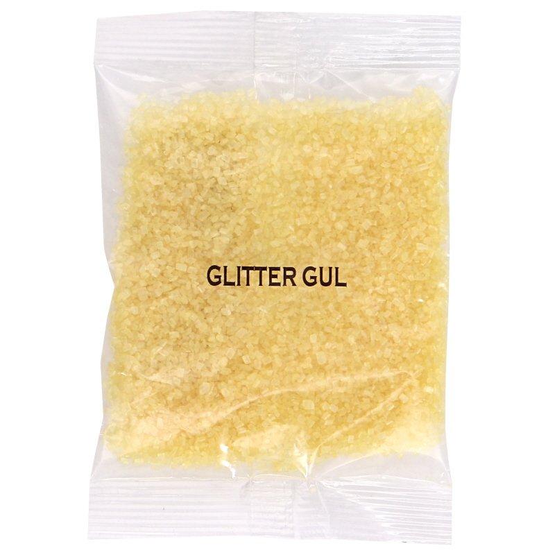 Glitter Gul Strössel - 47% rabatt
