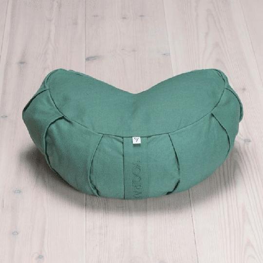 Meditation Cushion Crescent, Moss Green