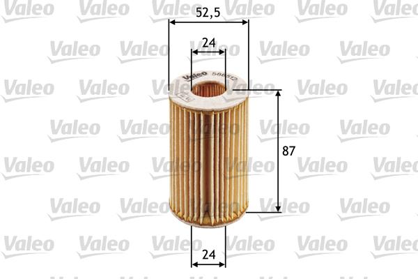 Öljynsuodatin VALEO 586512