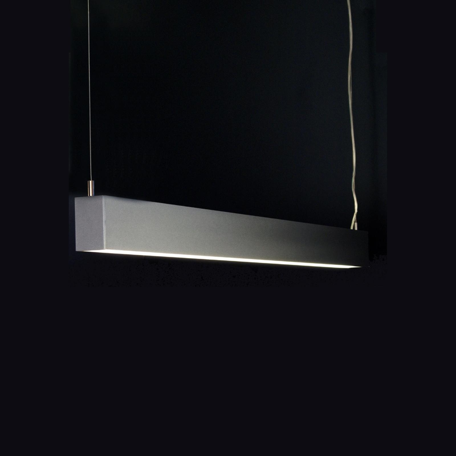 Modernin Tin-riippuvalaisimen pituus 89,8 cm