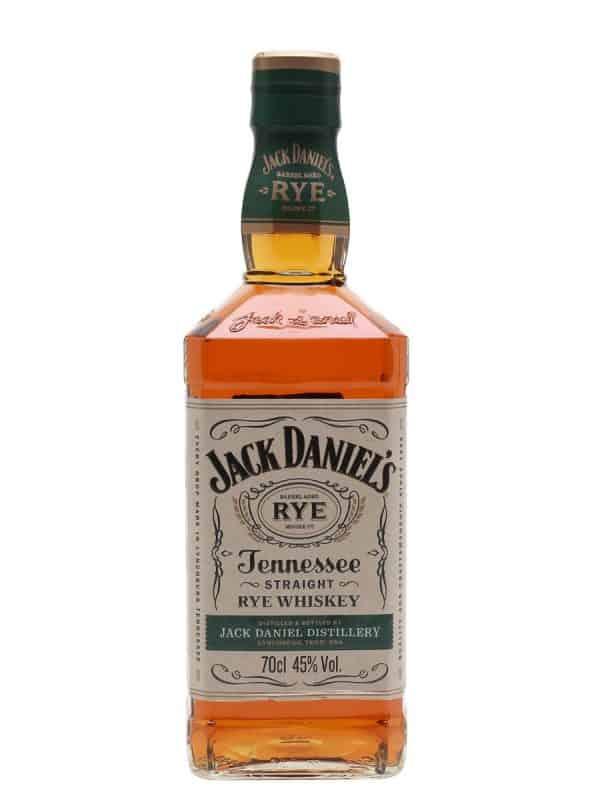 Jack Daniels Straight Rye Whiskey 70cl