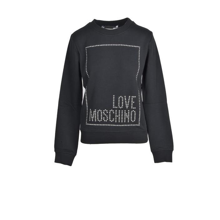 Love Moschino Women's Sweatshirts Black 321957 - black 44