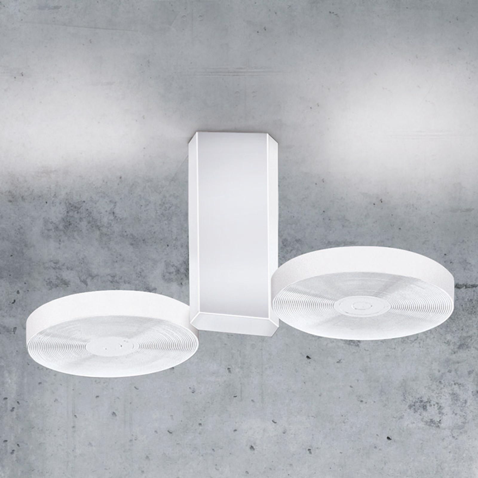 ICONE Cidi -LED-kattovalaisin, valkoinen